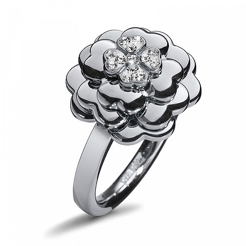 Brilliant Flower Ring
